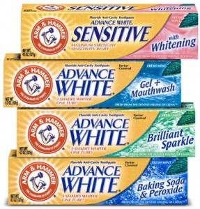 arm and hammer toothpaste