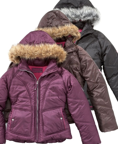 Macys - Kids Winter Coats/Vests Discounted