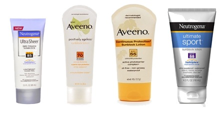 Amazon Aveeno Skincare Sale and Sunscreen Sale on Amazon with Coupon Code