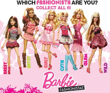 Right Now Pick Up 2 Off Barbie Fashionistas