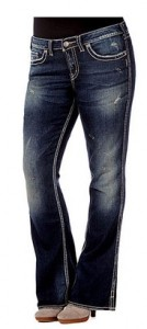 hot* plus-size silver jeans $40 shipped (from $120)
