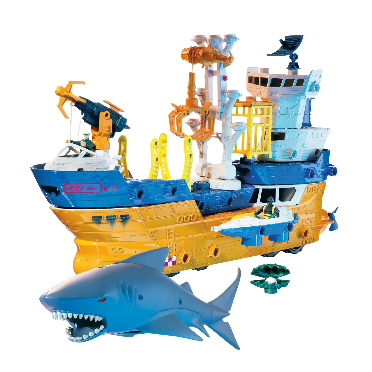 Shark Toys At Walmart : Get the mattel matchbox shark rig for shipped free