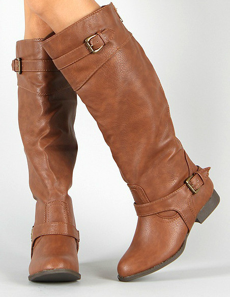Get Palma Cognac Riding boots for $44 shipped from Cents of Style.