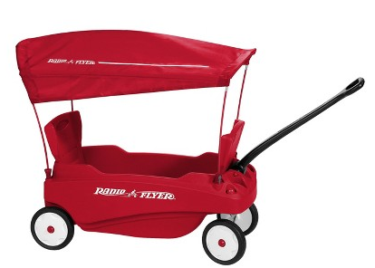 Radio Flyer Venture Wagon With Canopy Just 80 At Target