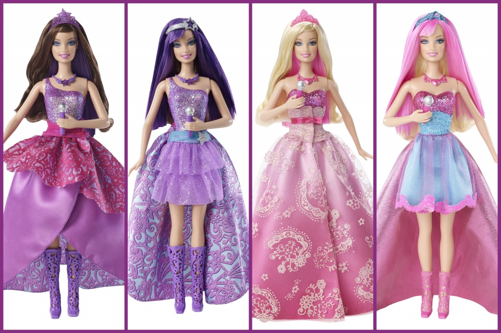 Barbie the princess the popstar transforming keira doll - Barbie princesse popstar ...