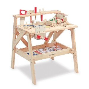 melissa and doug wooden workbench
