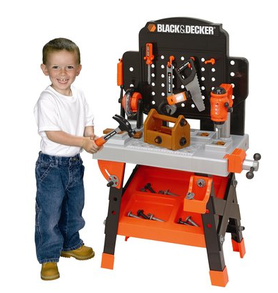 Black And Decker Kids Power Workbench For 35 Today
