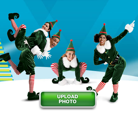 It is a photo of Canny Elf Yourself Printable