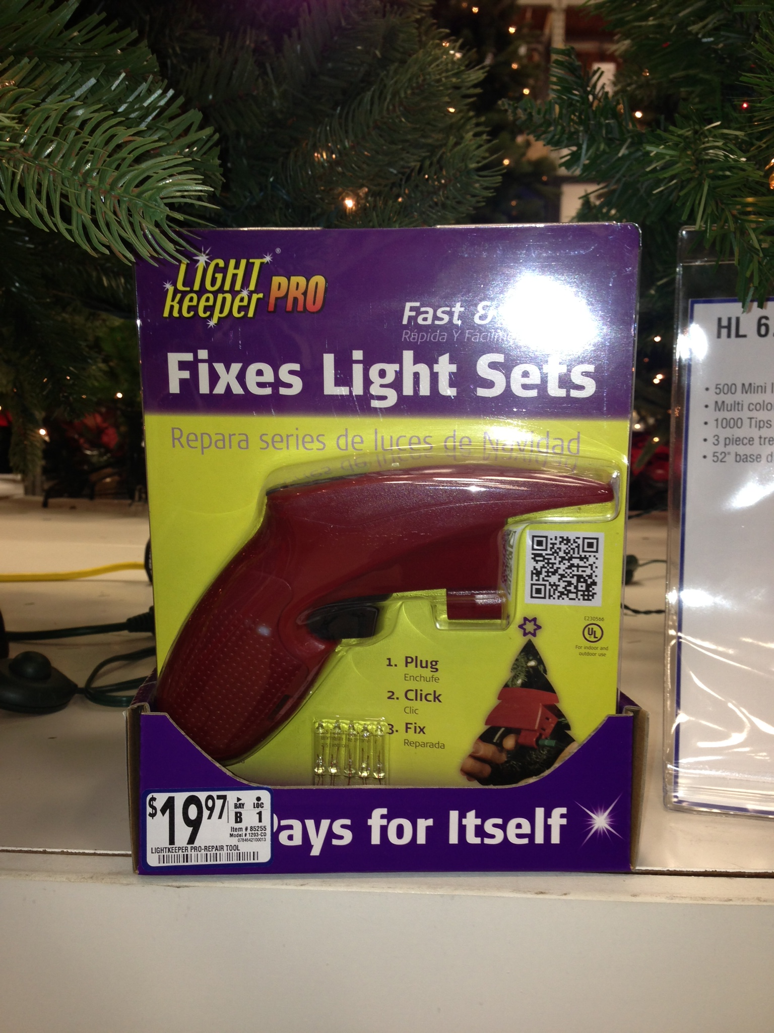 Light Keeper Pro for changing Christmas Lights - $16.99!