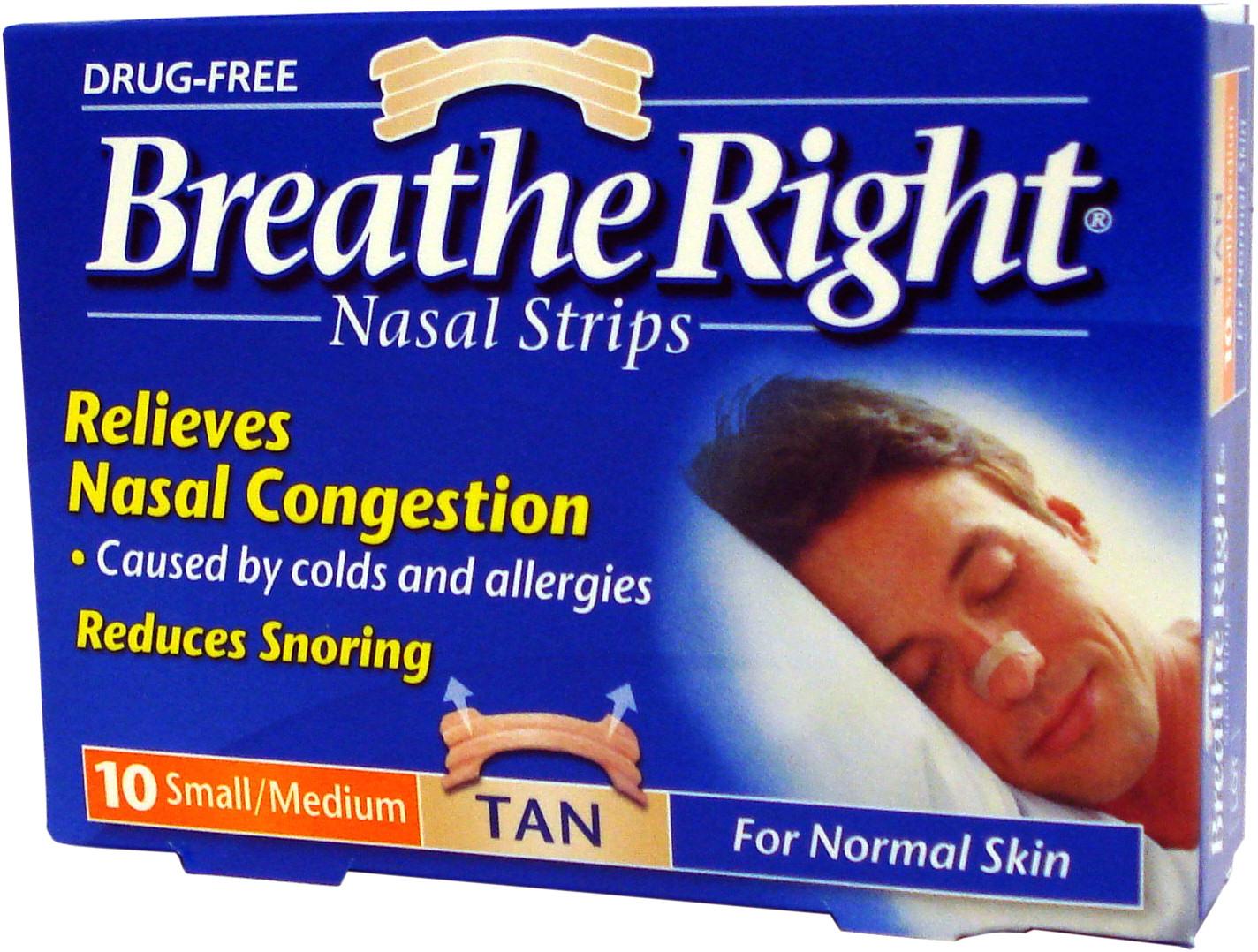Breath easy strip
