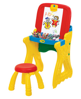 Crayola Play N Fold Easel And Stool 17 Shipped From 40