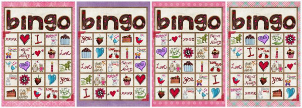free printable valentine bingo. Black Bedroom Furniture Sets. Home Design Ideas