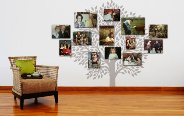 canvas-print-family-tree