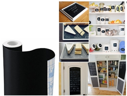 Chalkboard Contact Paper 691 And Craft Ideas