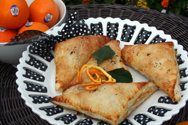 chocolate orange turnovers