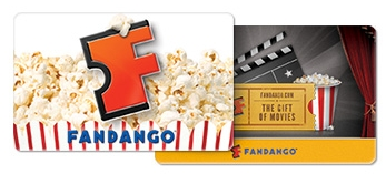 $50 Fandango Gift Card plus FREE Movie Ticket