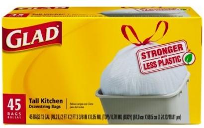 Glad Trash Bag 45 Count