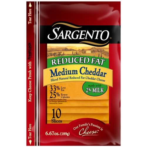 reduced fat sargento