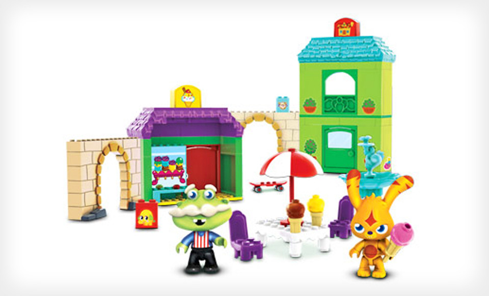 Mega Bloks moshi monsters kit