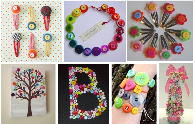Pinterest button crafts plus assorted button bucket for Button crafts for adults