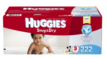 huggies size 3 box