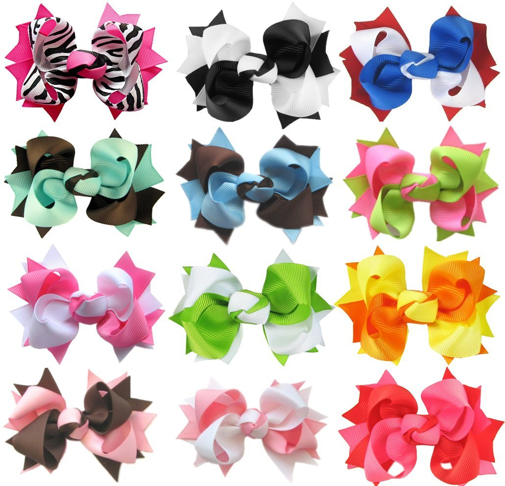 Cheap hair bows for girls clips blows and headbands from 55 pinwheel hairbows dhlflorist Choice Image