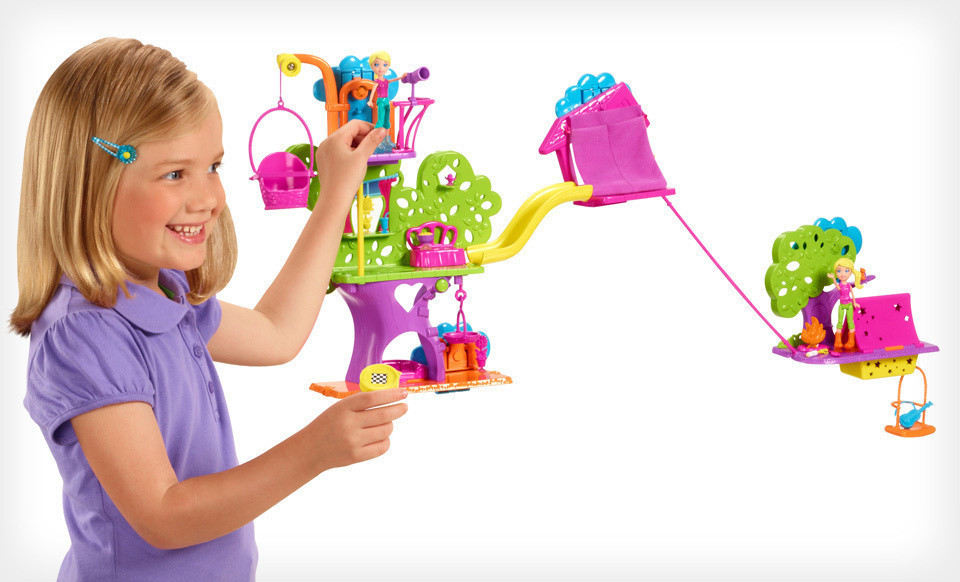 polly pocket wall toy