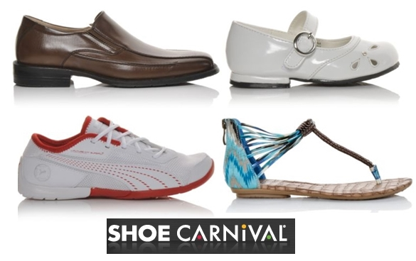 Shoe Carnival s Spring Sale! Save up to $15. Click Here Print coupon