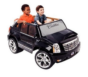 Drive like a grown-up with the Power Wheels Cadillac Escalade. Open ...