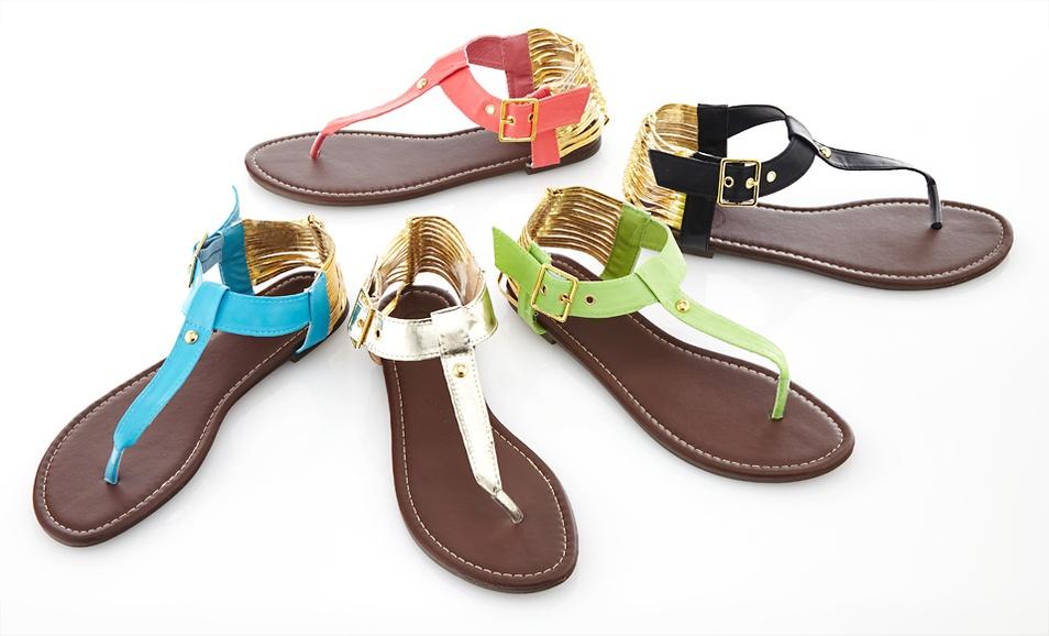 Carrini Thong Sandal 17 99 Shipped