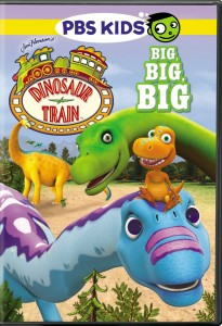 dinosaur train big big big dvd