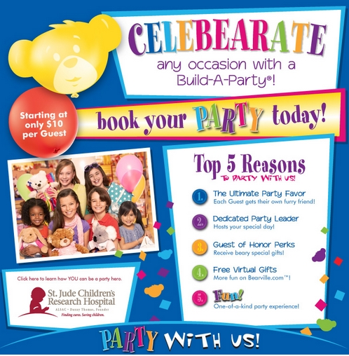 BuildABear Workshop Birthday Party with Doc McStuffins Theme – Build a Bear Invitations Birthday