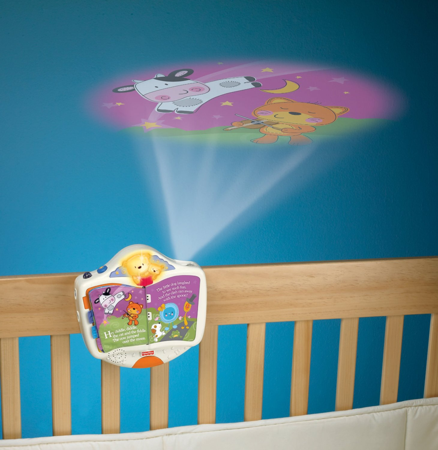 Fisher Price Storybook Crib Projector 18 28 From 39 99