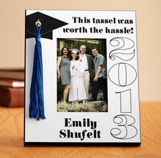 Personalized Graduation Photo Canvas And Tassel Frame 19