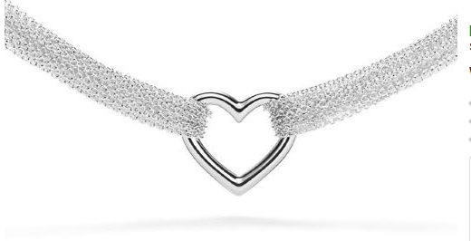 Discounted Tiffany Co Inspired Heart Necklaces From 25 Tiffany Chain Necklace