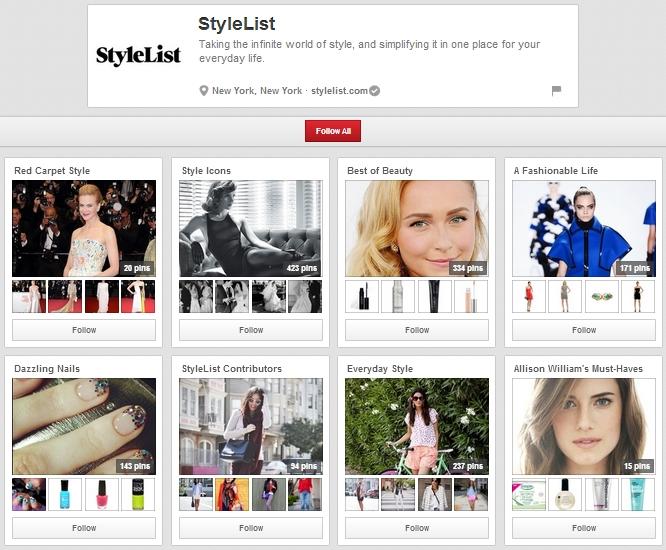 style-list-pinterest-board