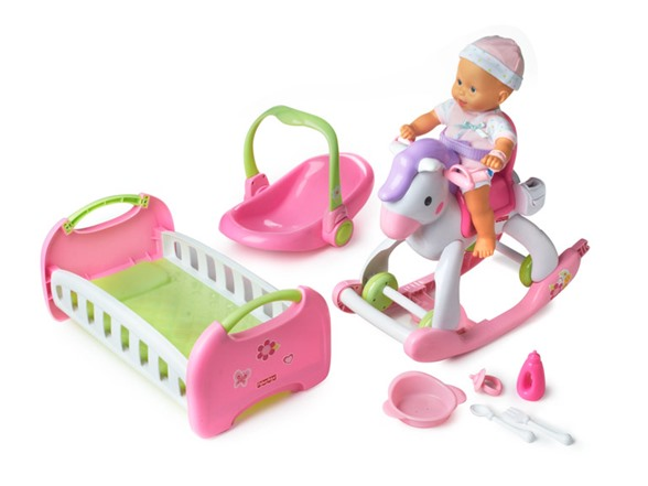 Fisher Price Little Mommy Home And Away Set 34 99 Today