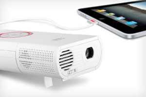 hook up iphone 5 to projector Connect the projector choose from the following connections  connect up to 4 video devices and use the source button on the projector or.