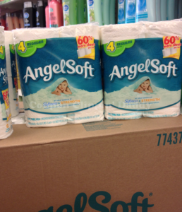 Angel Soft Toilet Paper 14 Per Roll At Dollar Tree And