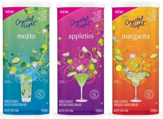 Crystal Light Alcoholic Drink Mixes