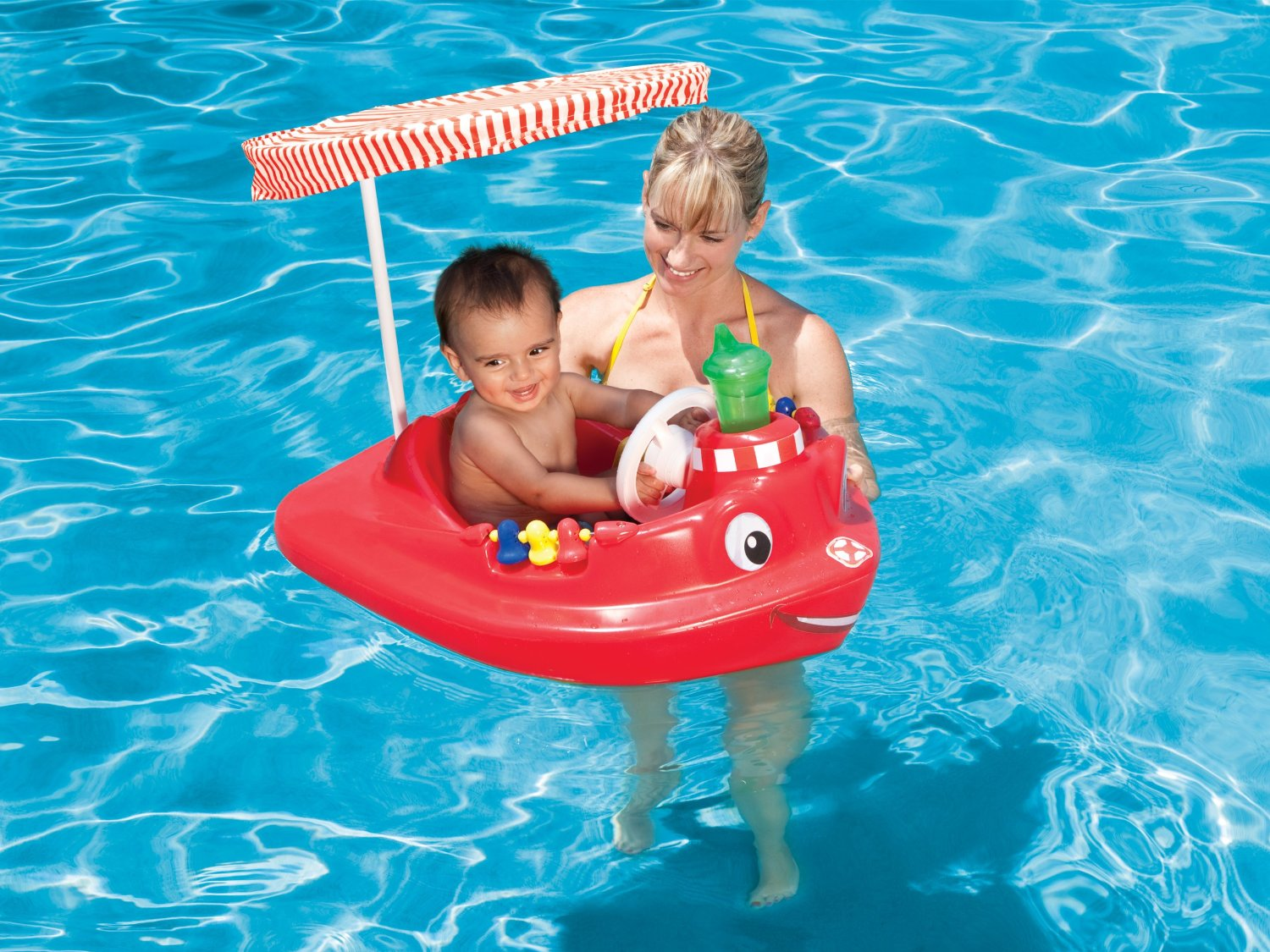 Swimways Baby Tug Boat For Pool 54 99 From 79 99
