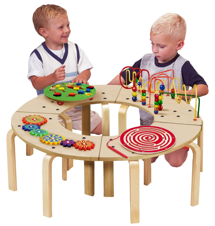 circle activity table