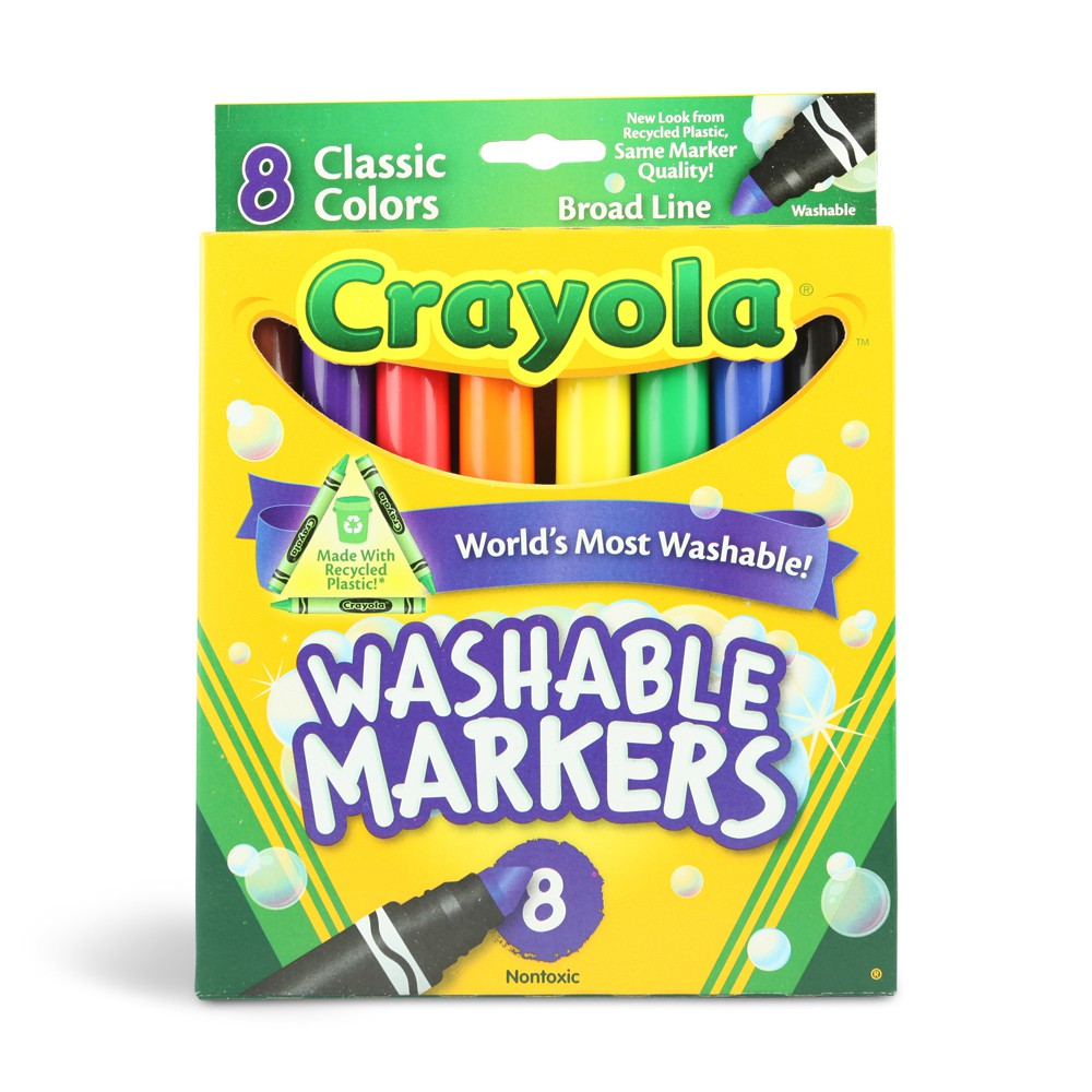 photograph relating to Crayola Coupons Printable identified as Crayola Marker Printable Coupon Washable Markers as Reduced as