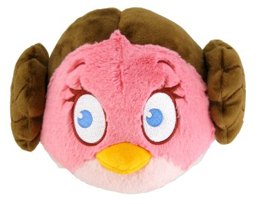 princess leia angry birds