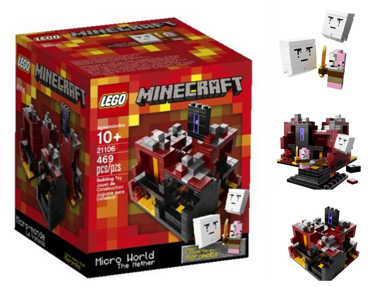 Lego Minecraft Village Set Lego minecraft the nether