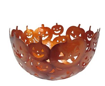 Halloween Decorative Jack-o'-Lantern Bowl