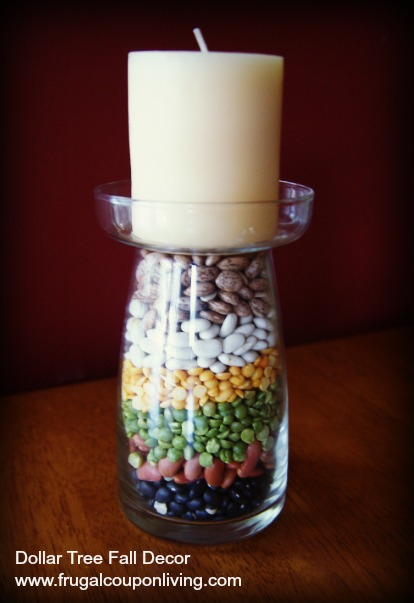 dollar-tree-fall-decor-layered-bean-candle-frugal-coupon-living