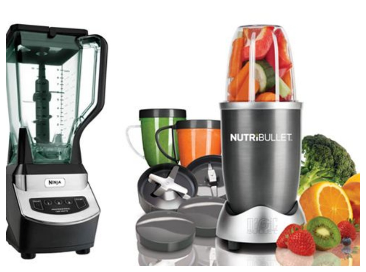 Kitchen Blender Discounts - Bella, NutriBullet and Ninja