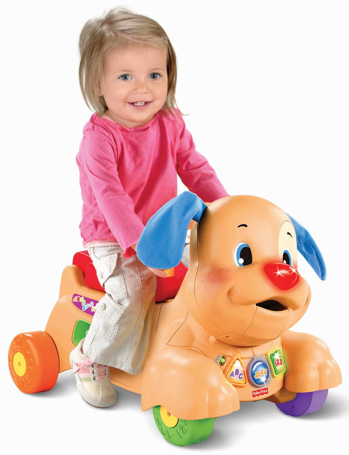 laugh and learn ride puppy