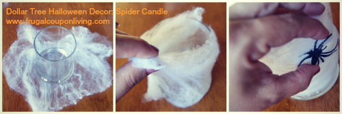 spider-collage-candle-frugal-coupon-living-halloween-dollar-store-craft